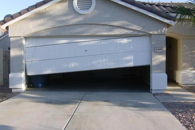 If You Only Open And Close Your Garage Door Twice A Day, The Garage Door  Springs Will Starting To Break In 14 Years.